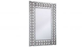 "Scarsdale 30.8"" Modern Wall Mirror in Clear"