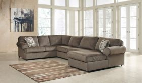 Signature Design by Ashley Jessa Place Sectional in Dune Fabric [FSD-6049SEC-DUN-GG]