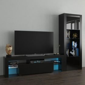 Sitka Modern Wall Unit Entertainment Center
