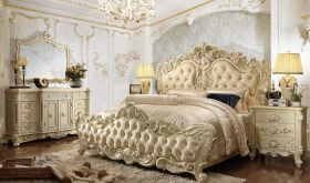 Styria Traditional Bedroom Set in Cream