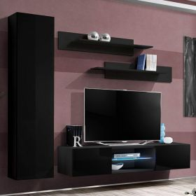 Vang Wall Mounted Floating Modern Entertainment Center (Size G1)