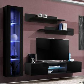 Vang Wall Mounted Floating Modern Entertainment Center (Size G2)