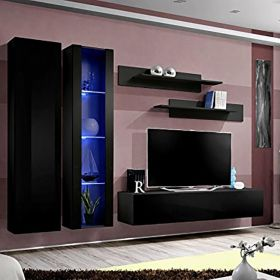 Vermont Wall Mounted Floating Modern Entertainment Center (Size A4)