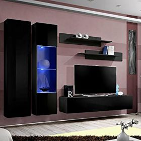 Vermont Wall Mounted Floating Modern Entertainment Center (Size A5)