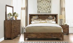 Victoria Bedroom Set in Rustic Oak