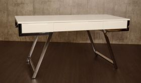 VIG Modrest Dessart Modern Desk in White Gloss