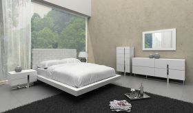 VIG Modrest Voco Modern Bedroom Set in White
