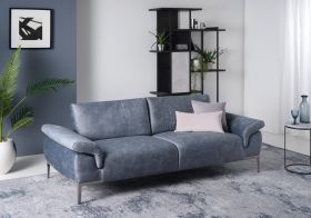 Wave  Modern Diva Sectional Sofa in Mineral