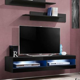 "Woods Modern Wall Mounted Floating 63"" TV Stand"