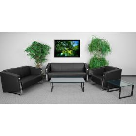 HERCULES Gallant Series Reception Set in Black [ZB-8803-SET-BK-GG]