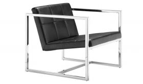 Zuo Carbon Modern Chair in Black