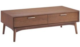 Zuo Design District Coffee Table in Walnut