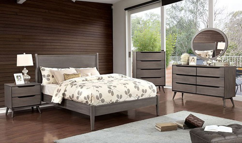 Hampton Youth Mid Century Modern Bedroom Set In Gray Get Furniture,Small Back Porch Ideas